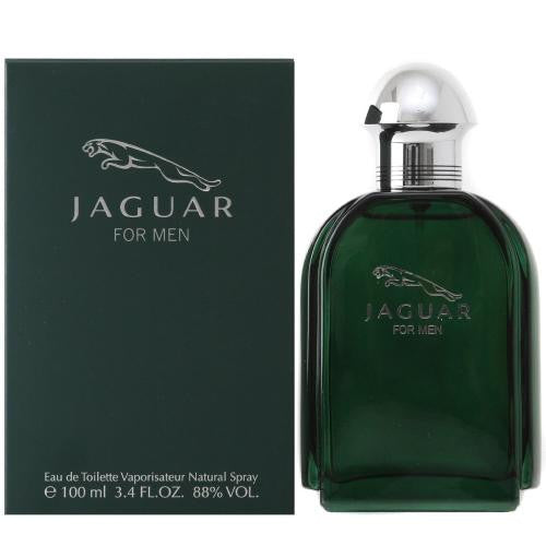 Jaguar Green for Men EDT Spray 3.4 oz - Discount Fragrance at Cosmic-Perfume