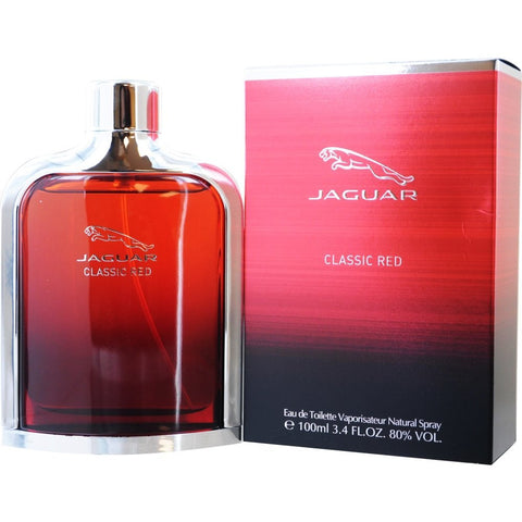 Jaguar Classic Red for Men by Jaguar EDT Spray 3.4 oz - Cosmic-Perfume