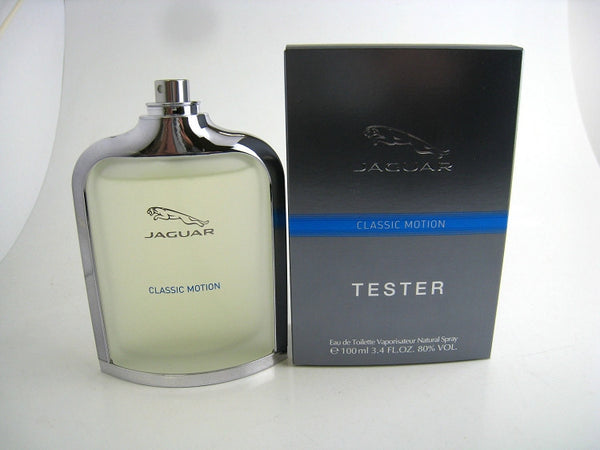 Jaguar Classic Motion for Men by Jaguar EDT Spray 3.4 oz (Tester) - Cosmic-Perfume