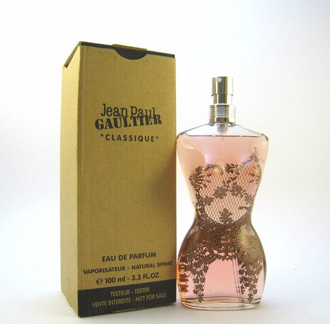 Jean Paul Gaultier Classique for Women EDP Spray 3.3 (Tester) - Discount Fragrance at Cosmic-Perfume