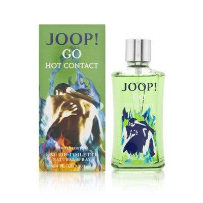 Joop Go Hot Contact for Men by Joop EDT Spray 3.4 oz - Discount Fragrance at Cosmic-Perfume