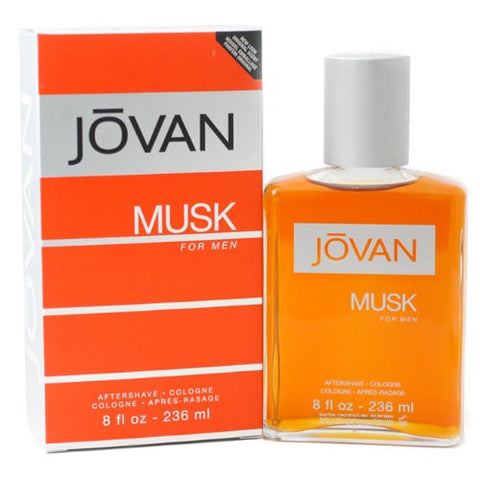 JOVAN MUSK for Men by Coty Cologne After Shave Splash 8.0 oz (New in Box) - Discount Bath & Body at Cosmic-Perfume
