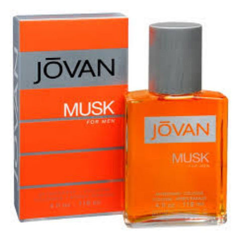 JOVAN MUSK for Men by Coty Cologne After Shave Splash 4.0 oz - Discount Bath & Body at Cosmic-Perfume