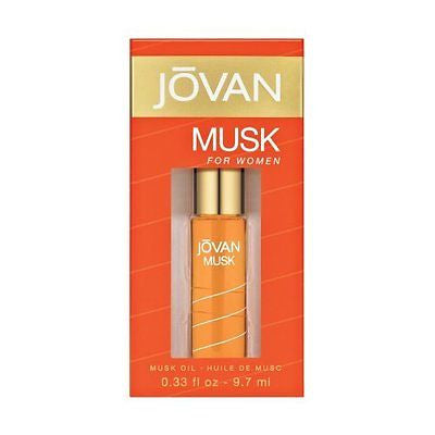 JOVAN MUSK for Women by Coty Musk Oil 0.33 oz - Discount Fragrance at Cosmic-Perfume