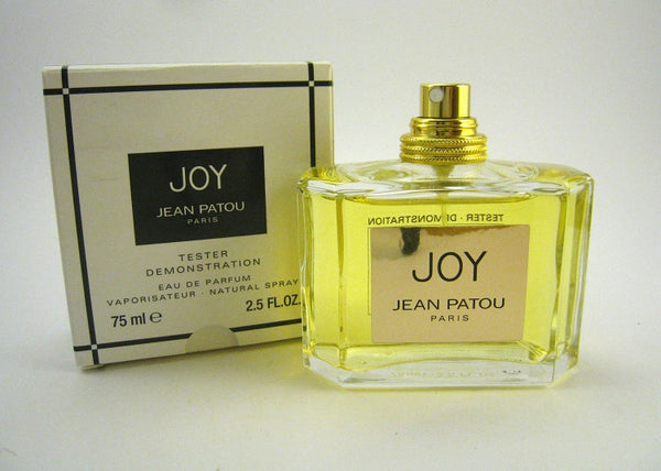 Joy for Women by Jean Patou Eau de Parfum Spray 2.5 oz (Tester) - Discount Fragrance at Cosmic-Perfume