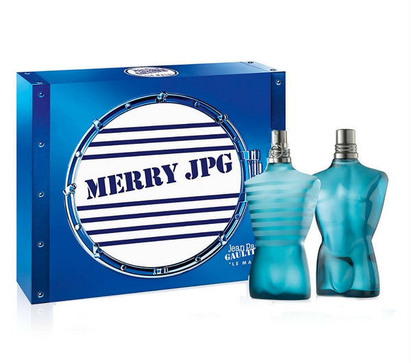 Le Male for Men by Jean Paul Gaultier EDT Spray 4.2 oz & After Shave Splash 4.2 oz Gift Set - Discount Fragrance at Cosmic-Perfume