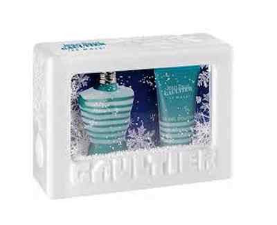 Le Male Men Jean Paul Gaultier EDT Spray 4.2 oz & Shower Gel 3.3 oz Gift Set - Discount Fragrance at Cosmic-Perfume