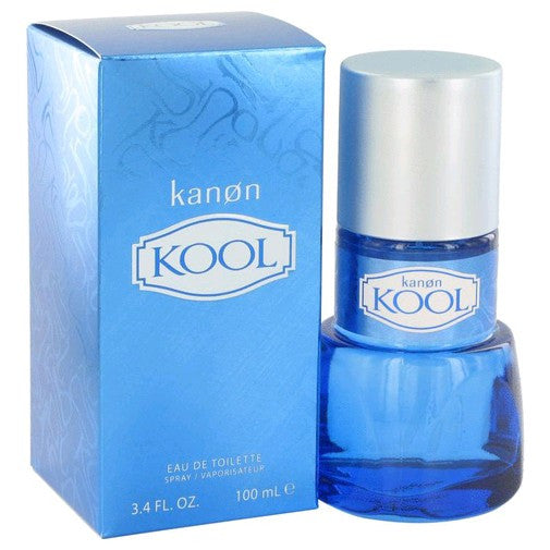 Kanon Kool for Men by Kanon Cologne EDT Spray 3.4 oz - Cosmic-Perfume