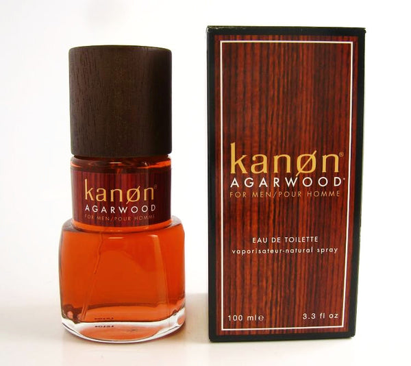 Kanon Agarwood for Men by Kanon EDT Spray 3.3 oz - Discount Fragrance at Cosmic-Perfume