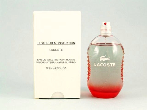 Lacoste Red (Style in Play) for Men by Lacoste EDT Spray 4.2 oz (Tester) - Discount Fragrance at Cosmic-Perfume