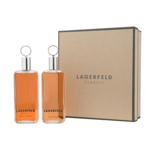 Lagerfeld for Men by Karf Lagerfeld 2 Pc Gift Set - Discount Fragrance at Cosmic-Perfume