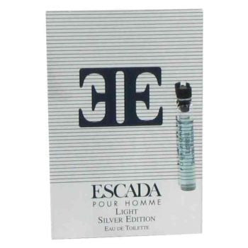 Light Silver Edition for Men by Escada EDT Splash Vial on Card - Discount Fragrance at Cosmic-Perfume