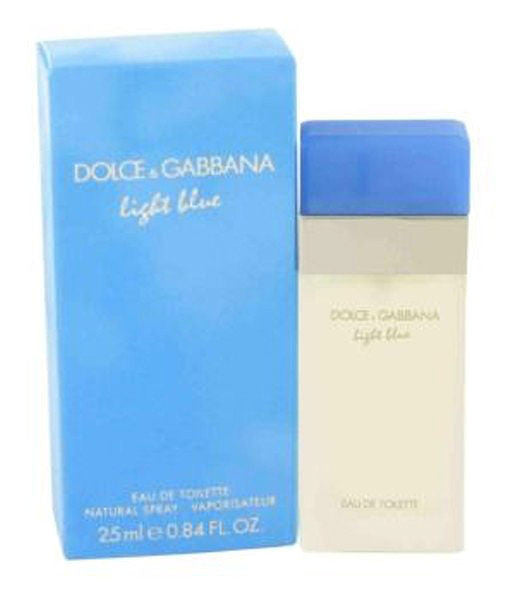 D & G Light Blue for Women by Dolce & Gabbana EDT Spray 0.84 oz - Discount Fragrance at Cosmic-Perfume