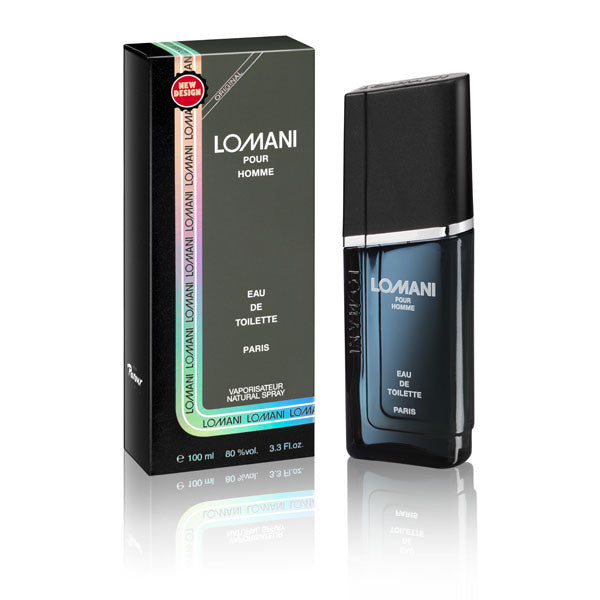 LOMANI Pour Homme for Men by Lomani EDT Spray 3.3 oz - Cosmic-Perfume