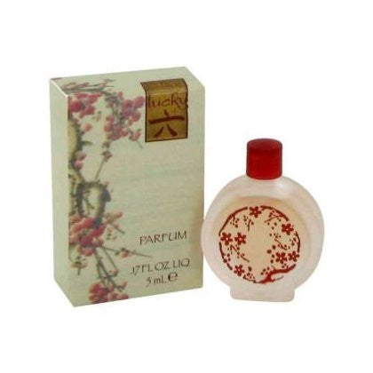 Lucky Number 6 for Women by Lucky Brand Parfum Miniature Splash 0.17 oz (New in Box) - Discount Fragrance at Cosmic-Perfume