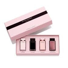 Narciso Rodriguez for Her Women Fragrance Miniature Collection 4 pc Gift Set - Discount Fragrance at Cosmic-Perfume