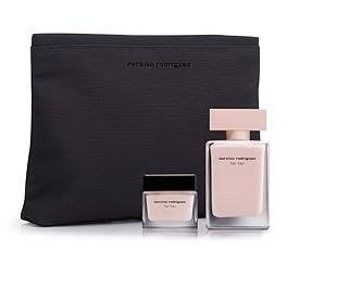Narciso Rodriguez Her for Women Narciso Rodriguez EDP Spray 1.6 oz 3 pc Gift Set - Discount Fragrance at Cosmic-Perfume