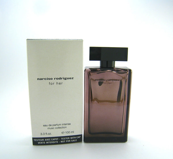 Narciso Rodriguez Musc Collection for Women EDP Intense Spray 3.3 oz (Tester) - Discount Fragrance at Cosmic-Perfume