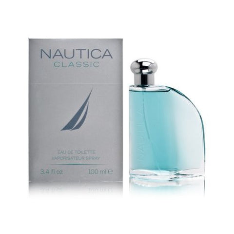 Nautica Classic for Men by Nautica EDT Spray 3.4 oz - Discount Fragrance at Cosmic-Perfume