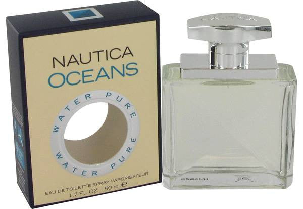 NAUTICA OCEANS for Men by Nautica EDT Spray 1.7 oz - Discount Fragrance at Cosmic-Perfume