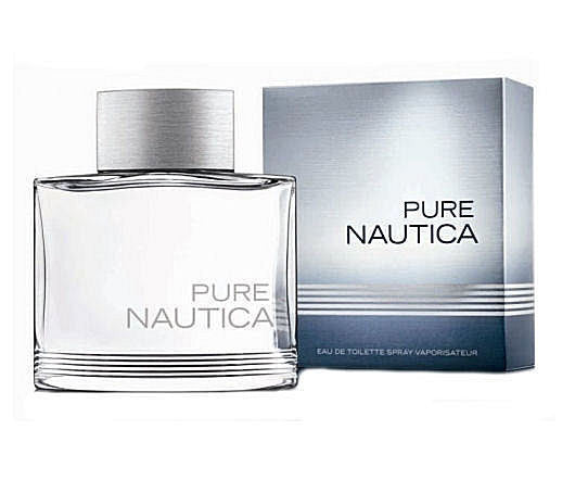 Nautica Pure for Men by Nautica EDT Spray 3.4 oz - Cosmic-Perfume