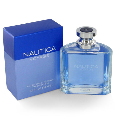 Nautica Voyage for Men by Nautica EDT Spray 3.4 oz - Discount Fragrance at Cosmic-Perfume