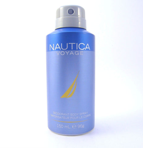Nautica Voyage for Men by Nautica Deodorant Body Spray 150 ml (96 gr) - Discount Bath & Body at Cosmic-Perfume