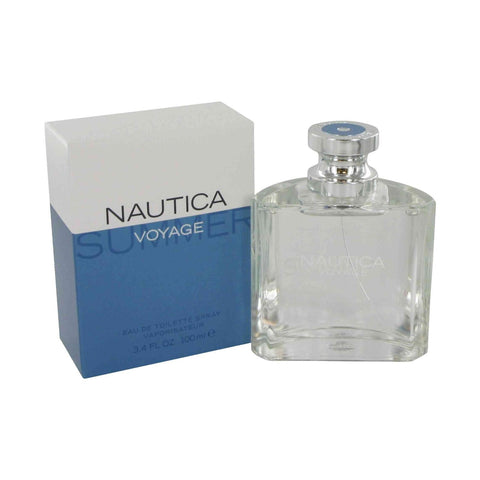 Nautica Voyage Summer for Men by Nautica EDT Spray 3.4 oz - Discount Fragrance at Cosmic-Perfume