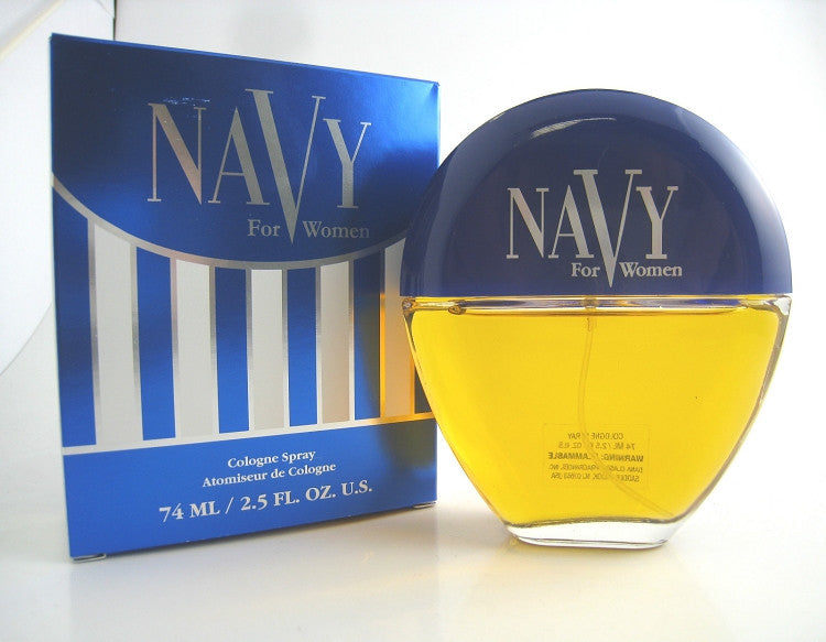 Navy for Women by Dana Cologne Spray 2.5 oz (New in Box) - Cosmic-Perfume