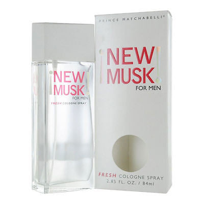 New Musk for Men by Prince Matchabelli Fresh Cologne Spray 2.85 oz - Discount Fragrance at Cosmic-Perfume