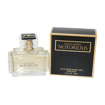 Notorious for Women by Ralph Lauren EDP Miniature Splash 0.25 oz (New in Box) - Discount Fragrance at Cosmic-Perfume