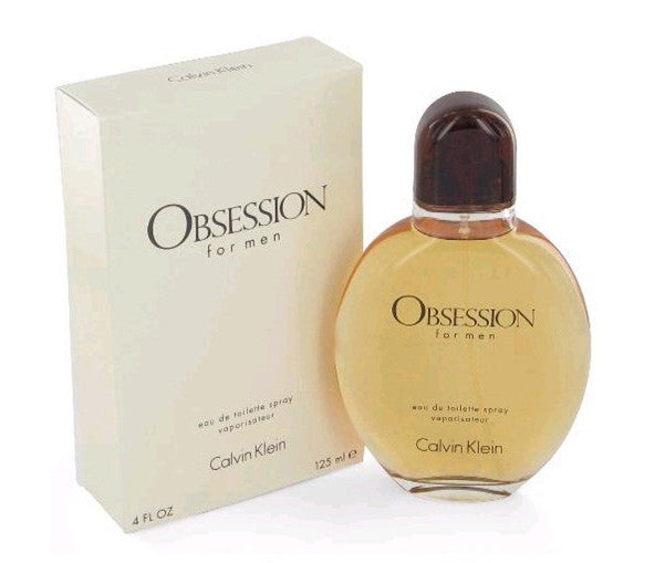 OBSESSION for Men by Calvin Klein EDT Spray 4.0 oz - Cosmic-Perfume