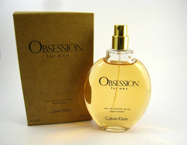 OBSESSION for Men by Calvin Klein EDT Spray 4.0 oz (Tester) - Discount Fragrance at Cosmic-Perfume