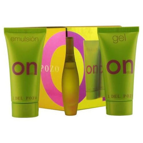 On Ella for Women by Jesus del Pozo 3 pc Sample Gift Set - Cosmic-Perfume