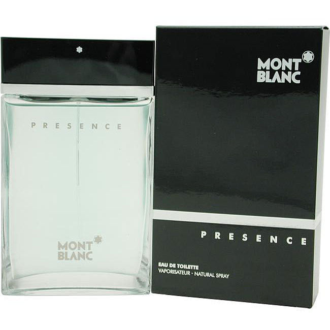 Presence pour Homme for Men by Mont Blanc EDT Spray 2.5 oz - Cosmic-Perfume