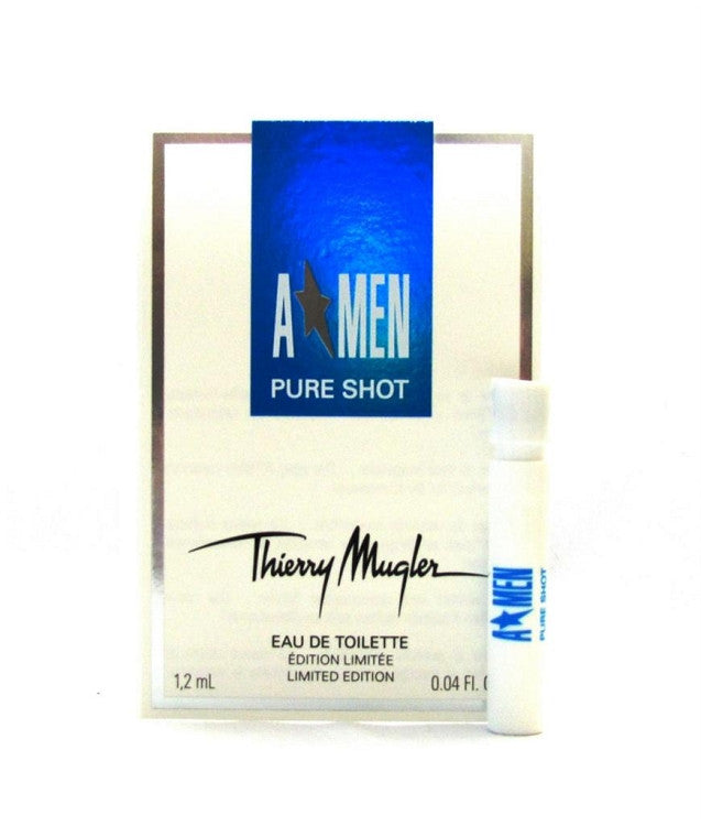 A * MEN Pure Shot Angel by Thierry Mugler EDT Vial Spray 0.04 oz - Cosmic-Perfume