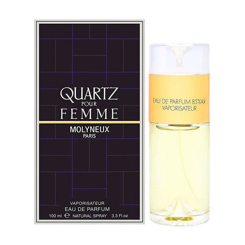 Quartz Pour Femme for Women by Molyneux EDP Spray 3.3 oz - Cosmic-Perfume