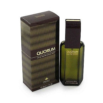 Quorum for Men by Antonio Puig EDT Spray 3.4 oz - Discount Fragrance at Cosmic-Perfume