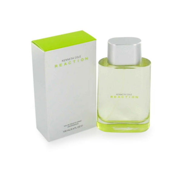 Reaction for Men by Kenneth Cole EDT Spray 3.4 oz (New in Box) - Discount Fragrance at Cosmic-Perfume