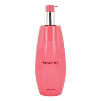 Realities (New) for Women by Realities Cosmetics Body Lotion 6.7 oz (Tester) - Discount Bath & Body at Cosmic-Perfume