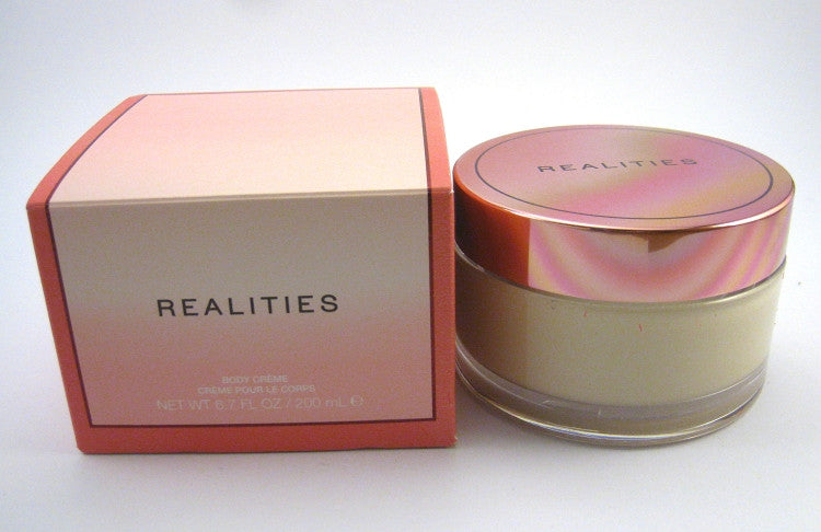Realities Pink for Women by Realities Body Creme (Cream) 6.7 oz - Cosmic-Perfume