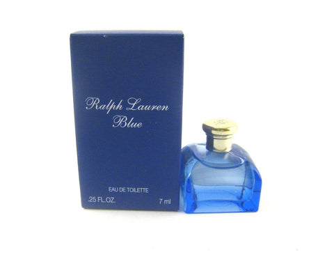 Ralph Lauren Blue for Women by Ralph Lauren EDT Miniature Splash 0.25 oz (New in Box) - Discount Fragrance at Cosmic-Perfume
