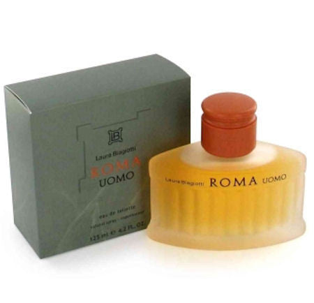 Roma Uomo for Men by Laura Biagiotti EDT Spray 4.2 oz - Discount Fragrance at Cosmic-Perfume