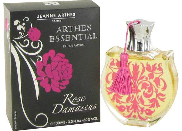 Essential Rose Damascus Women Jeanne Arthes EDP Spray 3.3 oz - Cosmic-Perfume