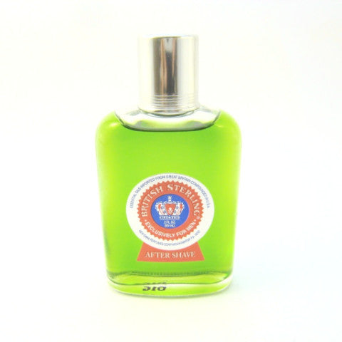 British Sterling for Men by Dana After Shave Splash 2.0 oz (Unboxed) - Cosmic-Perfume