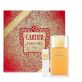 Must de Cartier for Women EDT Spray 3.3 oz + EDT Purse Spray 0.3 oz Gift Set - Discount Fragrance at Cosmic-Perfume