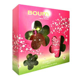Boum Green Tea Cherry Blossom for Women by Jeanne Arthes EDP Spray 3.3 oz 3pc Gift Set - Discount Fragrance at Cosmic-Perfume