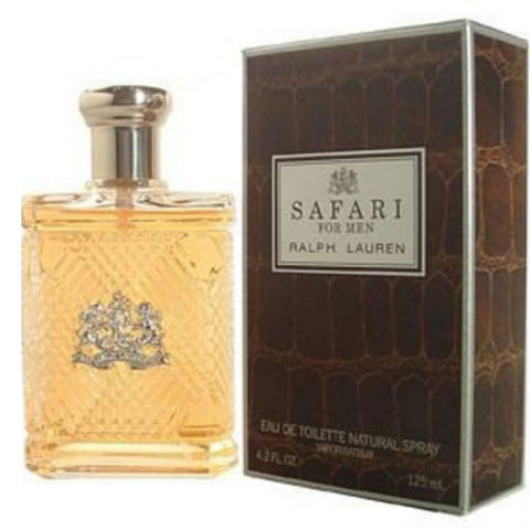 Safari for Men by Ralph Lauren EDT Spray 4.2 oz - Discount Fragrance at Cosmic-Perfume