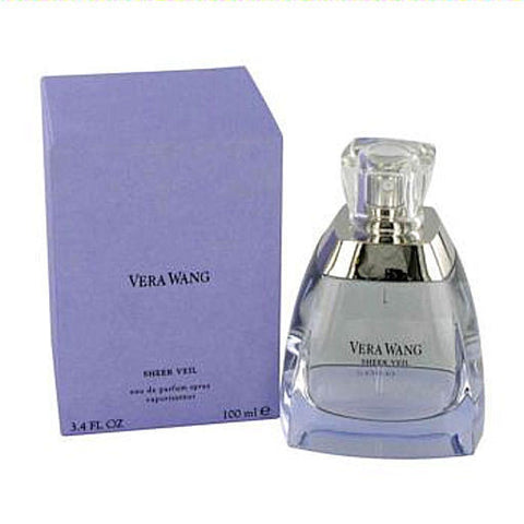 Sheer Veil for Women by Vera Wang EDP Spray 3.4 oz (New in Sealed Box) - Discount Fragrance at Cosmic-Perfume