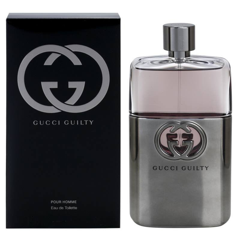GUCCI GUILTY POUR HOMME for Men Gucci EDT Spray 3.0 oz - Cosmic-Perfume